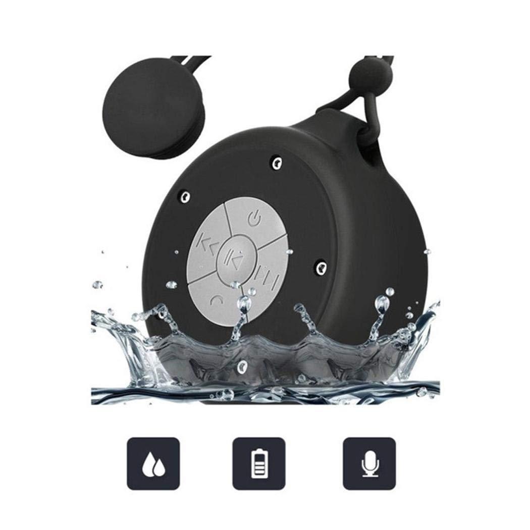 ACECOREE Bluetooth Lautsprecher- Drahtloser Bluetooth Lautsprecher Creative Sucker Audio Player Support Card