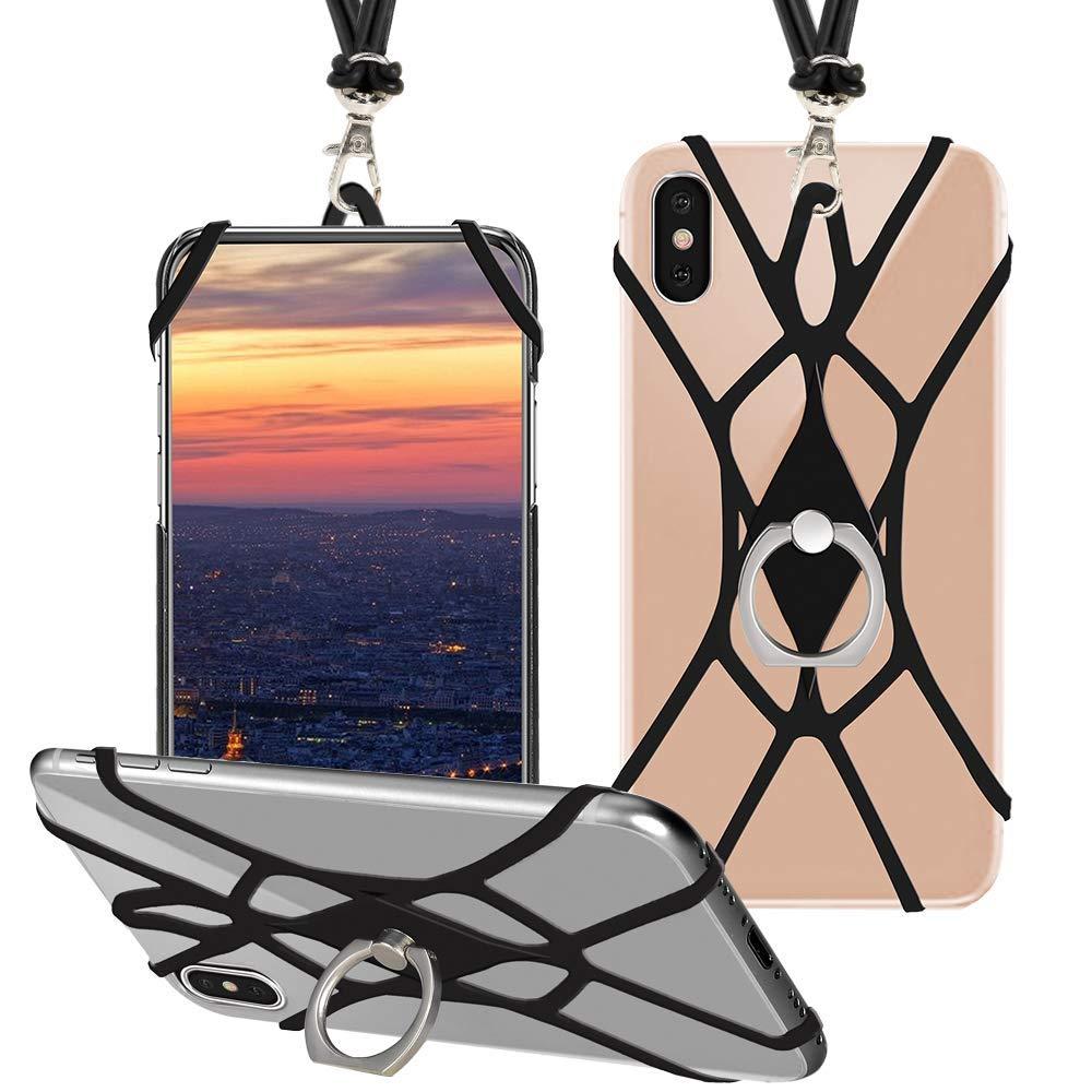 SHANSHUI Handy Lanyard, Silikon Umhängeband Halsband Trageband