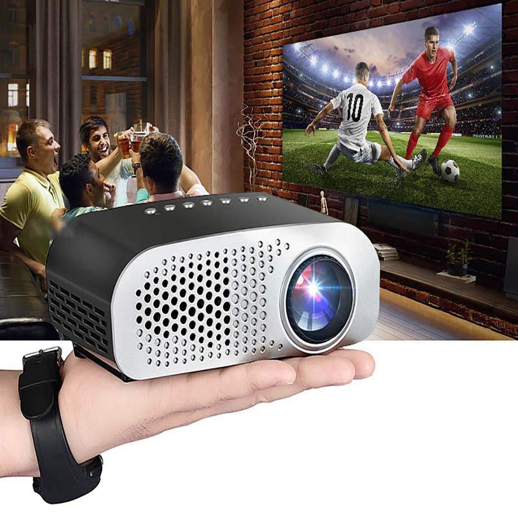 Intelligenter Projektor GP8S Mini tragbarer Projektor Android Home Smart Cinema