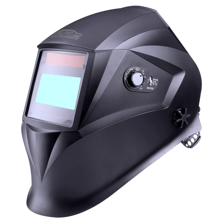 Schweißhelm, Tacklife PAH04D Automatik Schweißhelm mit 4 Sensoren