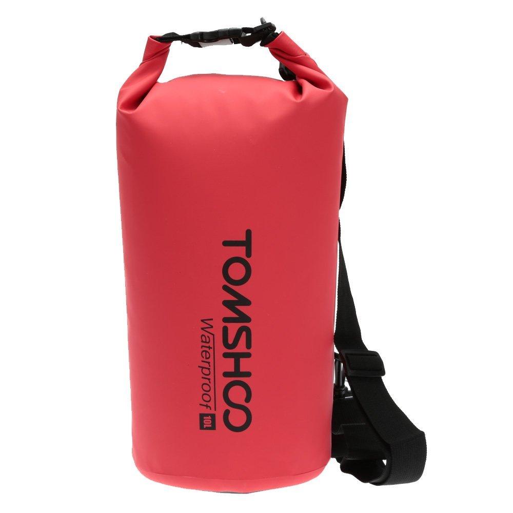TOMSHOO 10L / 20L Outdoor Water Resistant Dry Bag Stausack Aufbewahrungstasche