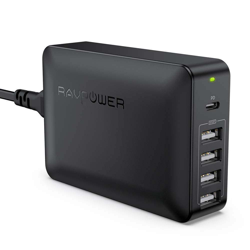 RAVPower 60W USB-Ladegerät mit 45W USB-C PowerDelivery