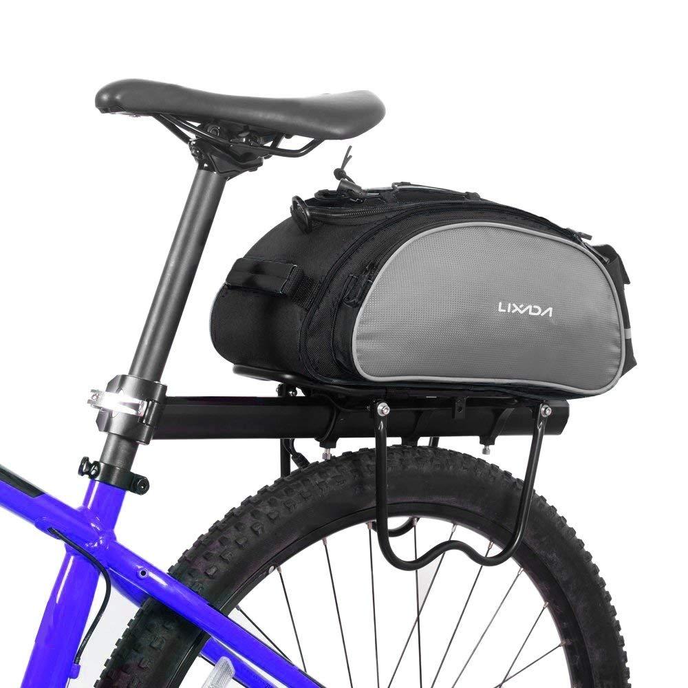 Lixada Fahrradtaschen Gepäckträger Wasserdicht Sitz Multifunktionale Tasche