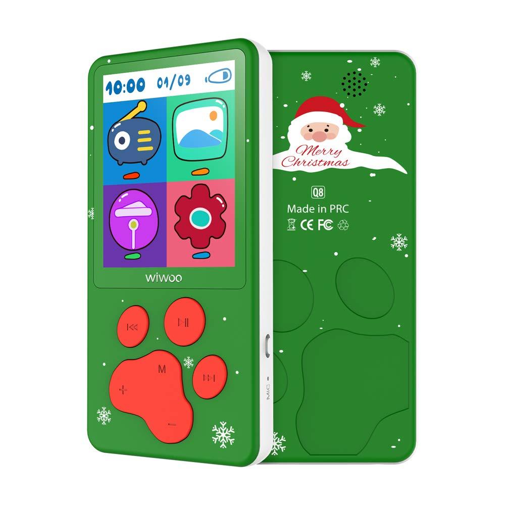 MP3 Player für Kinder Weihnachtsgeschenk 2.4″ Bildschirm 8 GB MP3 Player