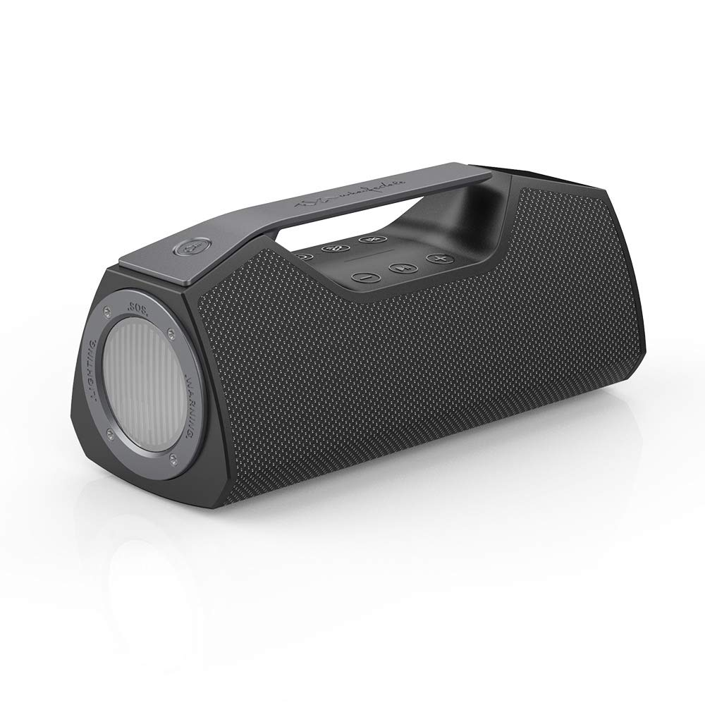 Wharfedale Exson M Bluetooth Speaker in Grau – Tragbarer Lautsprecher