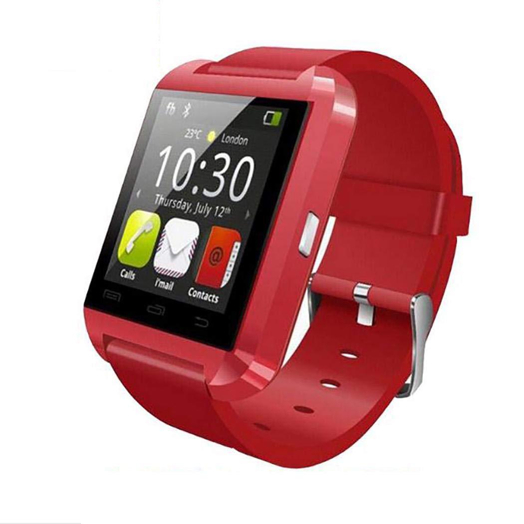Bluetooth Sport Smart Watch, Fitness Tracker Aktivität Tracker Herzfrequenzmessung