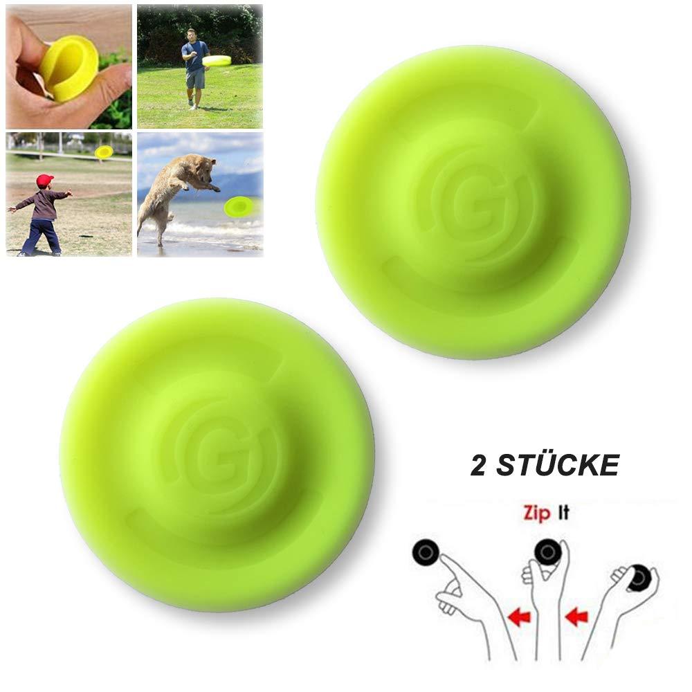 LEBEXY Flugscheibe | Mini Frisbee Disc Spielzeug