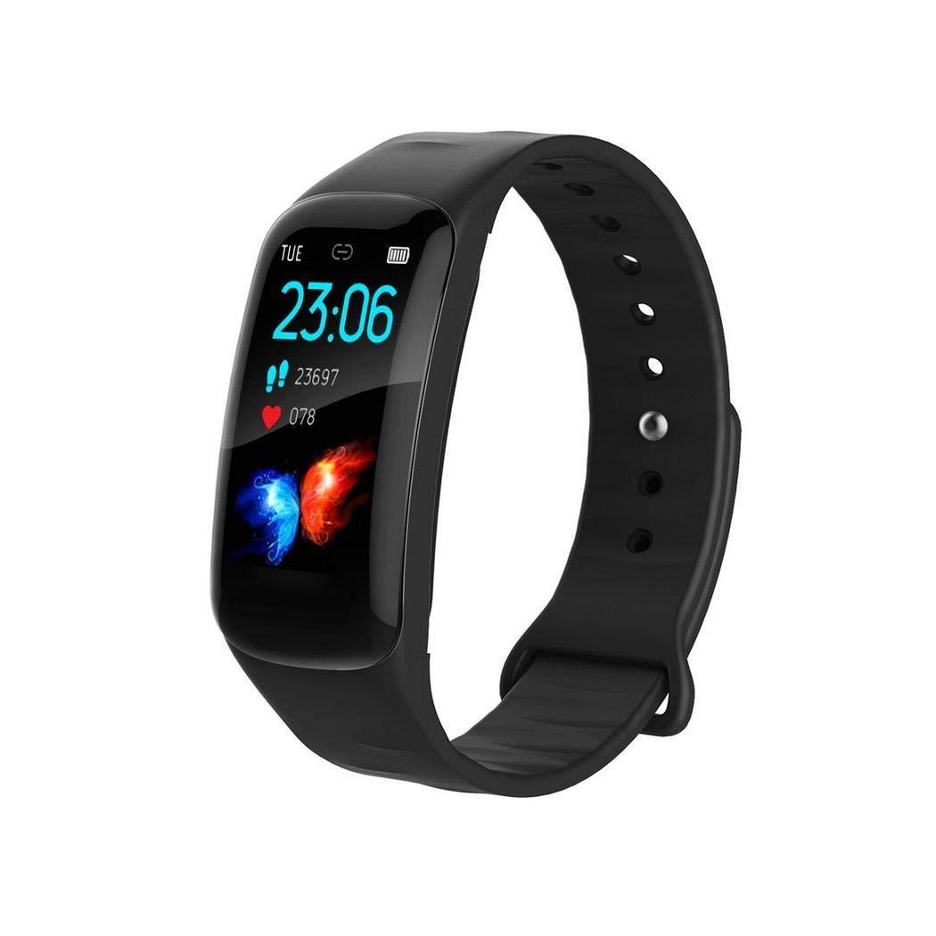 Unisex Fashion Digital Display Schnallenverschluss Smart Bracelet Health Wristband Smartwatches