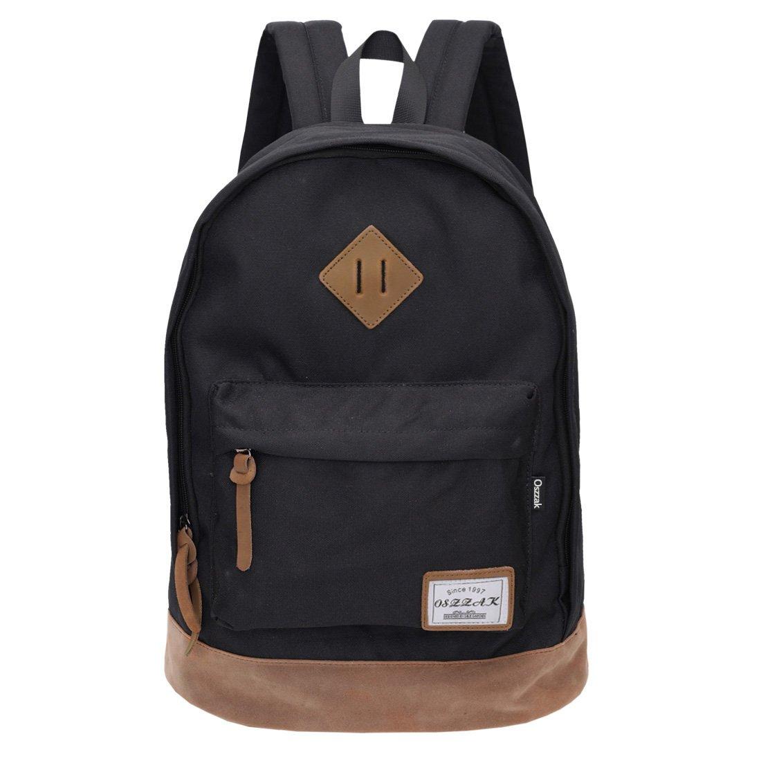 Rucksack Schwarz Schulrucksack Jugendliche Backpack Rucksäcke