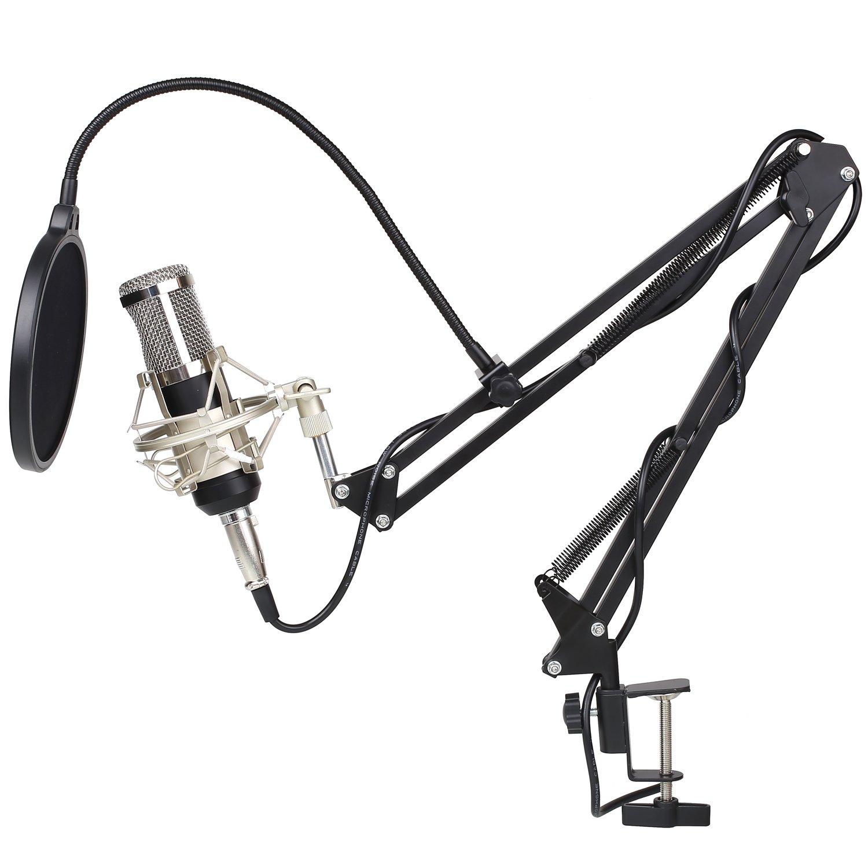MVPOWER Kondensator Mikrofon Set