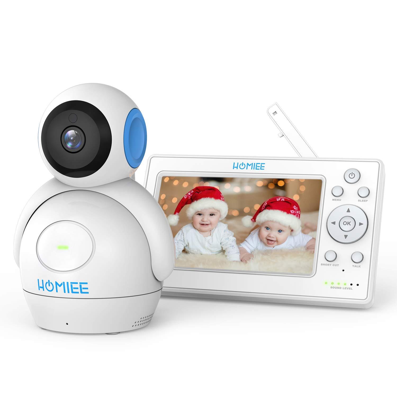 Sie sparen 30% Video Babyphone,HOMIEE 2.0 Babyphone 360°Baby Kamera