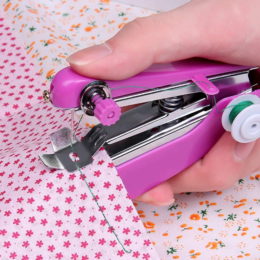 80% off Tiowea Stich Reise Haushalt Elektrische Tragbare Mini Handheld Nähmaschine