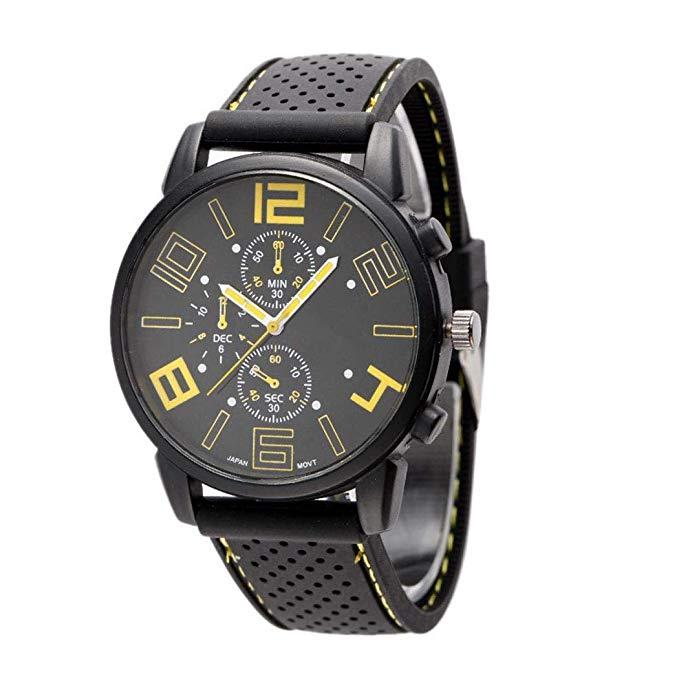 80% off Tiowea Männer Quarz-Armbanduhr