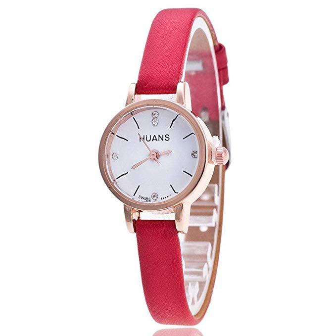 80% off Tiowea Frauen Mode Strass Runde Analog Quarz Uhr Geschenk Armbanduhren