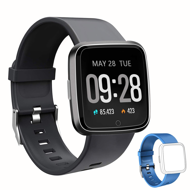 Smartwatch Armbanduhr mit Aktivitätstracker Schrittzähler