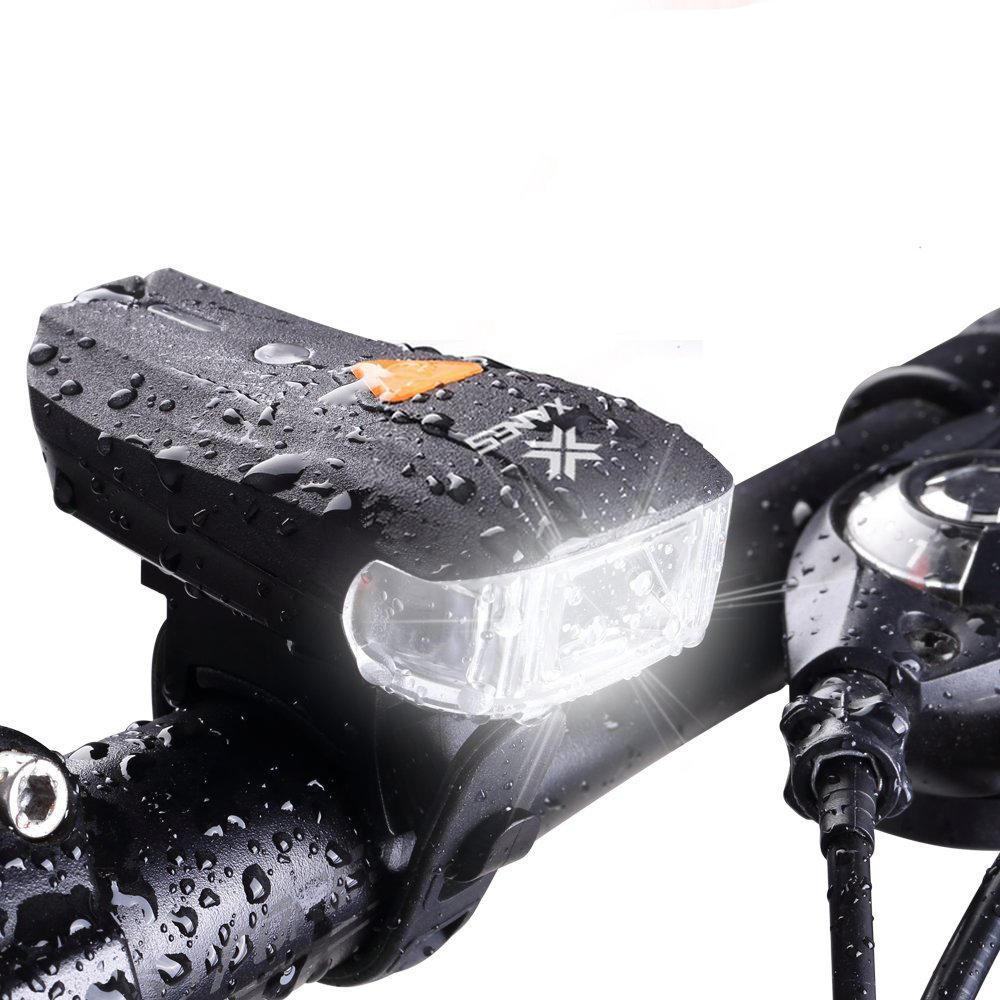 2 LED Bicycle German Standard Smart Sensor Warning Light