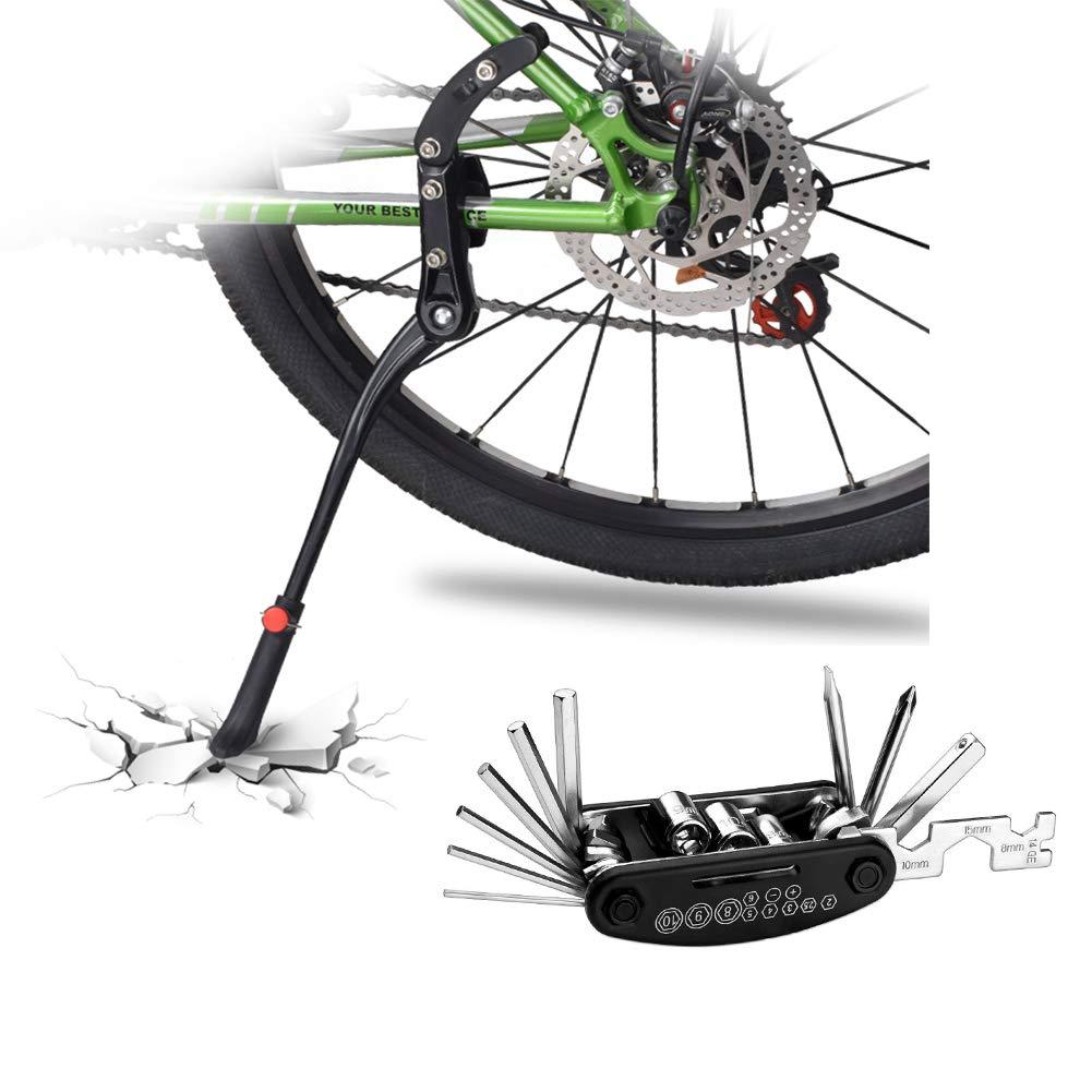DOBEN Fahrradständer Einstellbarer – Hinterbauständer Aluminiumlegierung