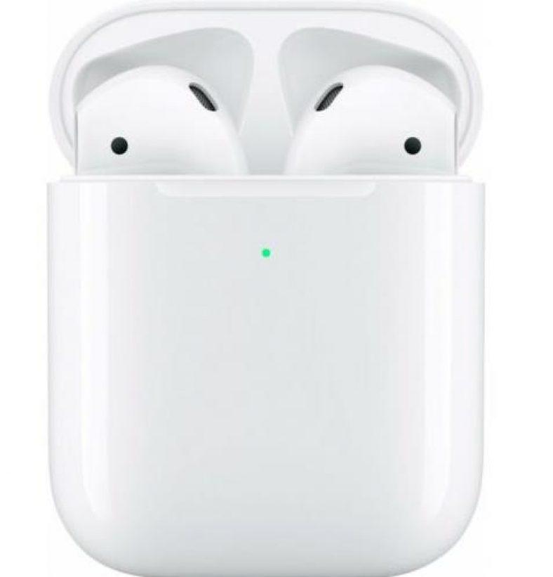 Apple AirPods 2 + Wireless Charging Case White Qi Lautsprecher MRXJ2ZM/A WOW!