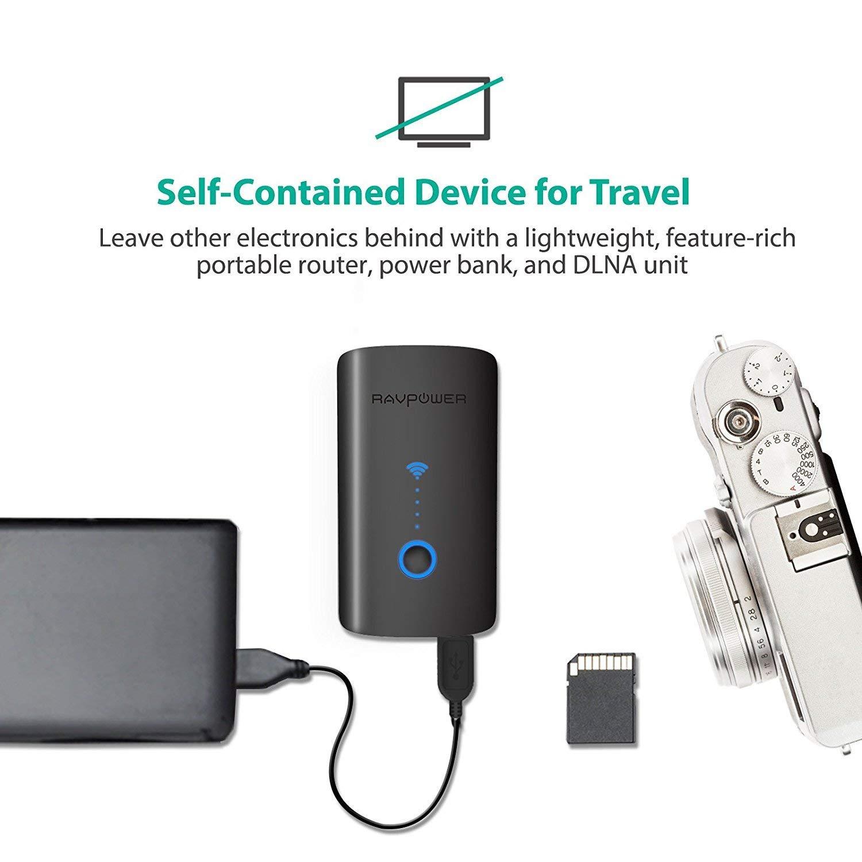 RAVPower Filehub kabelloser SD Kartenleser