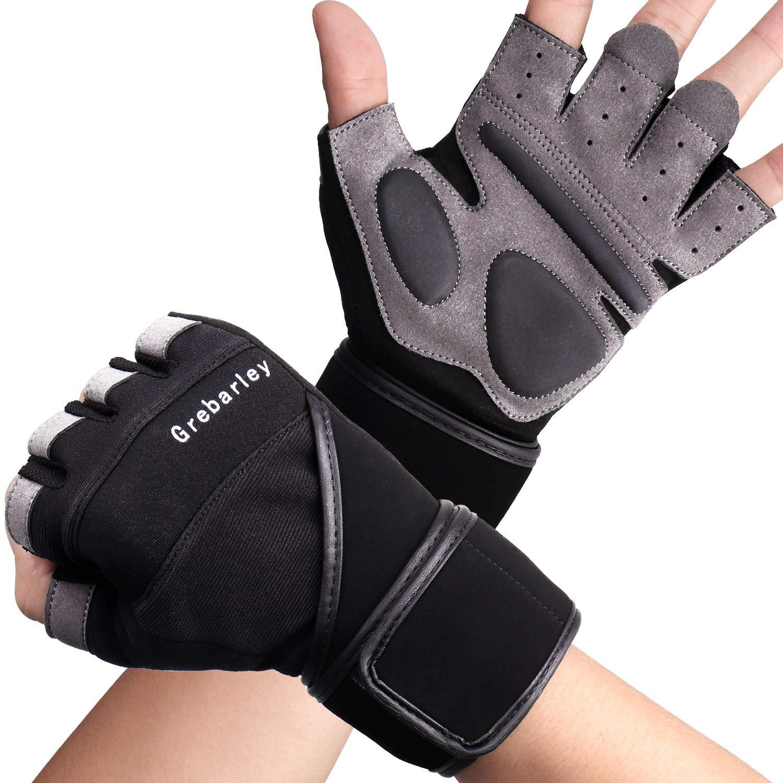 Grebarley Fitness Handschuhe,Trainingshandschuhe,Gewichtheben Handschuhe