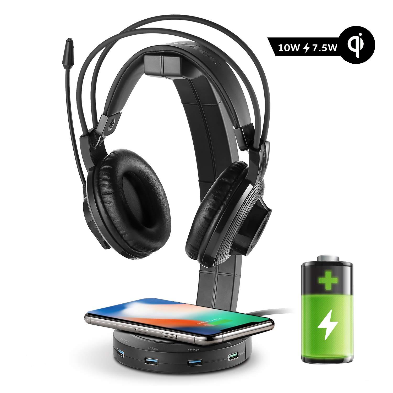 EasyAcc Kopfhörerhalter Gaming Headset Halterung Over Ear Kopfhörer Halter