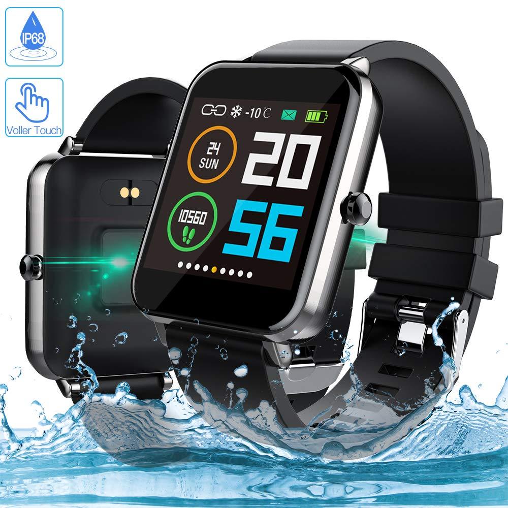 Zagzog 1,54 Zoll Voller Touch Screen Bluetooth Smartwatch