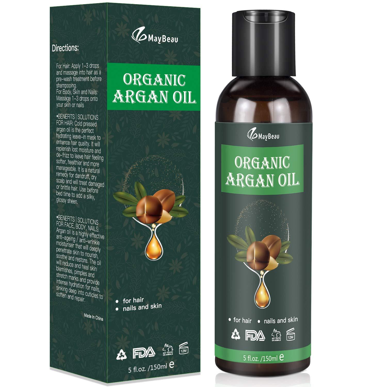 Bio Arganöl 150ml Kaltgepresst Biologisches Serum- Anti-Aging & Anti-Falten