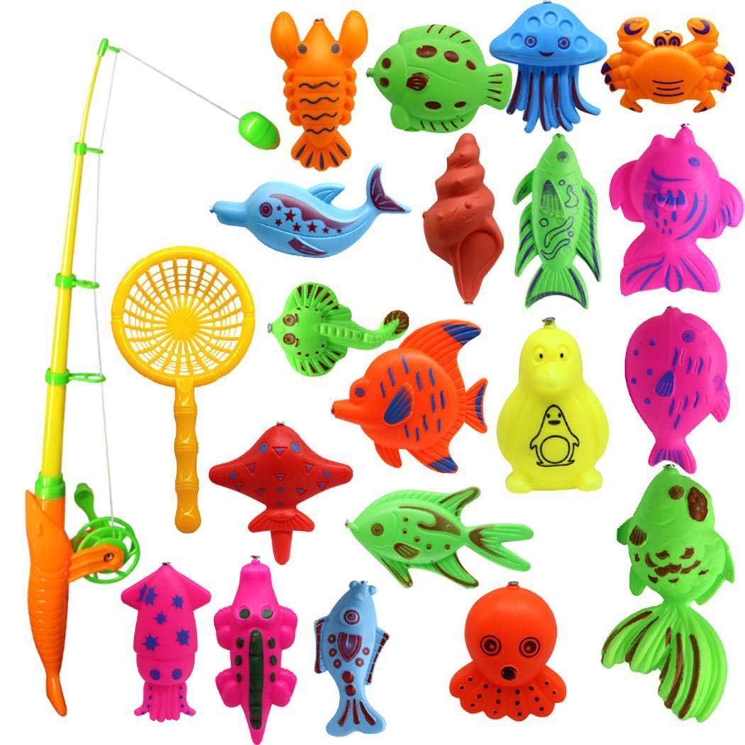 80% off  Wekold Magnetic Fishing Toys Spieleset für Kinder zum Baden Poolparty