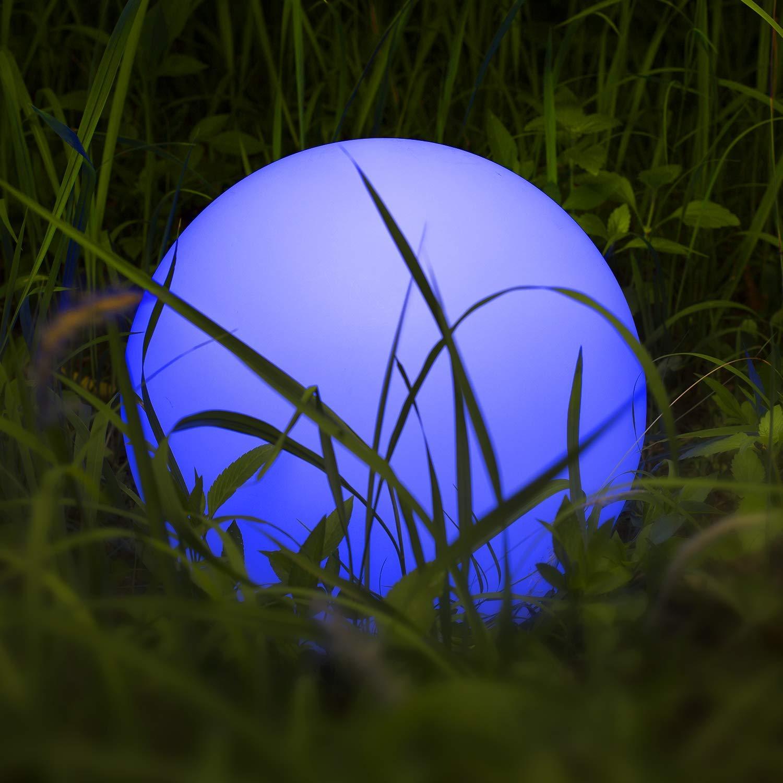 Solarlampen für Außen, Homever Solarleuchte Garten 12in Mit 9 Farbwechselmodi,Wasserdicht