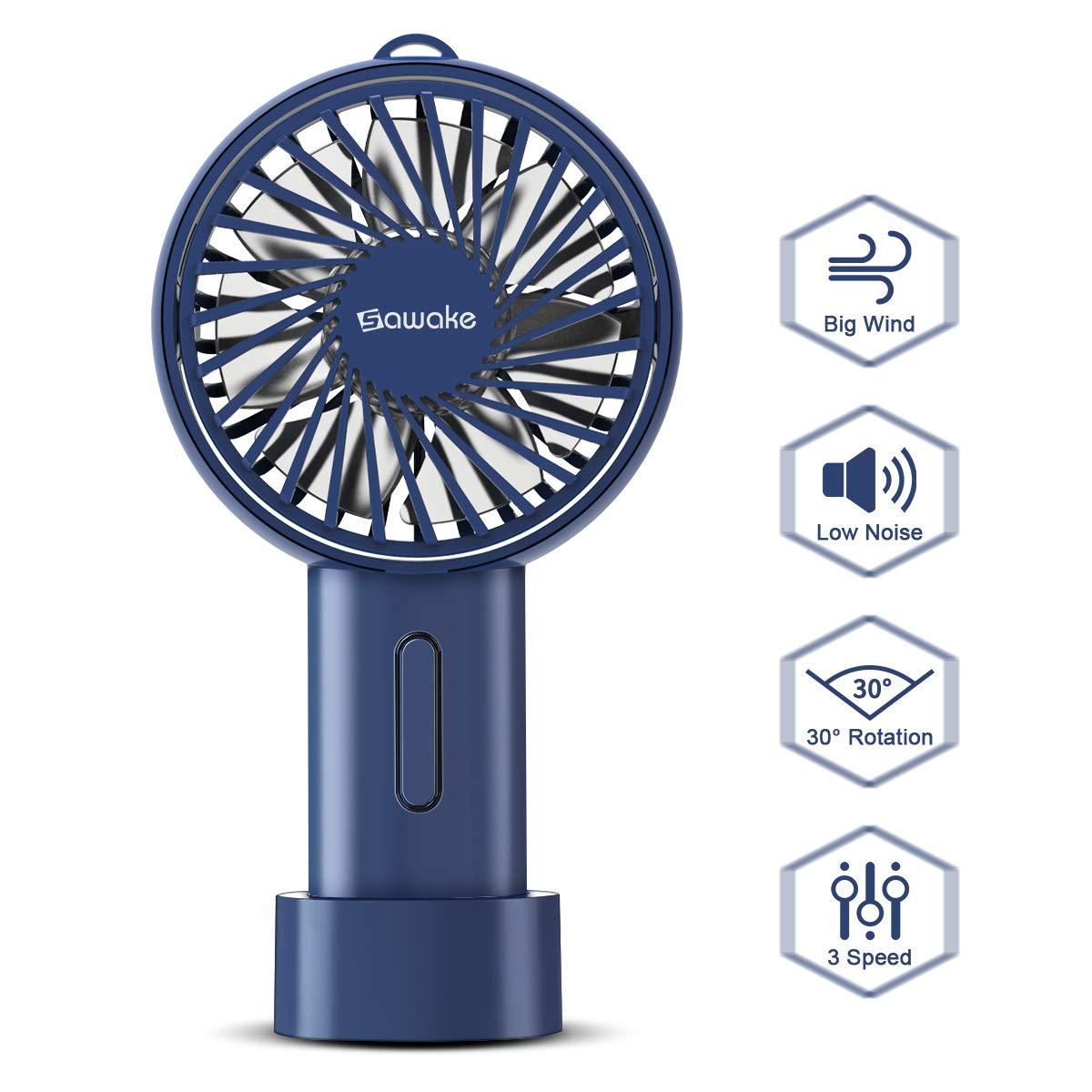 SAWAKE Handventilator mini Ventilator, elektrisch Handlüfter