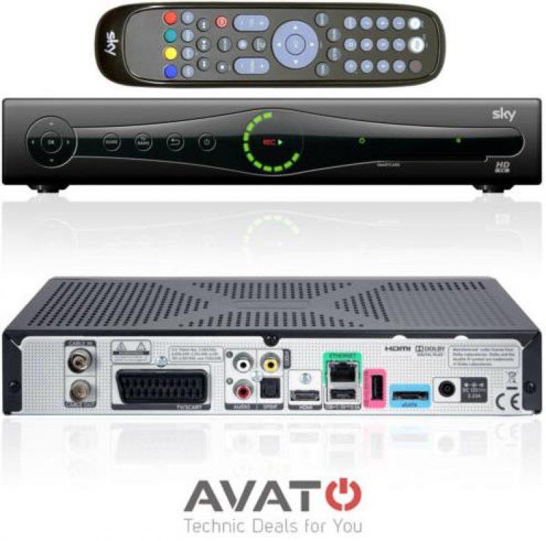 Humax PR-HD3000C Digital DVB-C Kabel Receiver SKY S HD3 HDMI V23 G02 G09 PVR