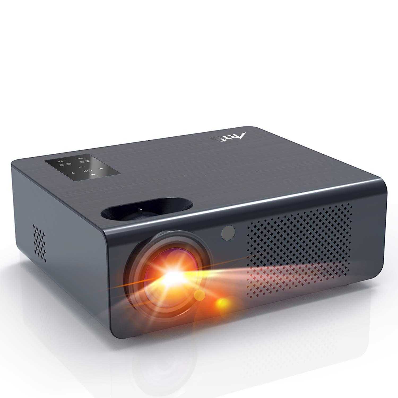 Beamer – Artlii Energon Heimkino Beamer mit Zoomfunktion HD Projektor