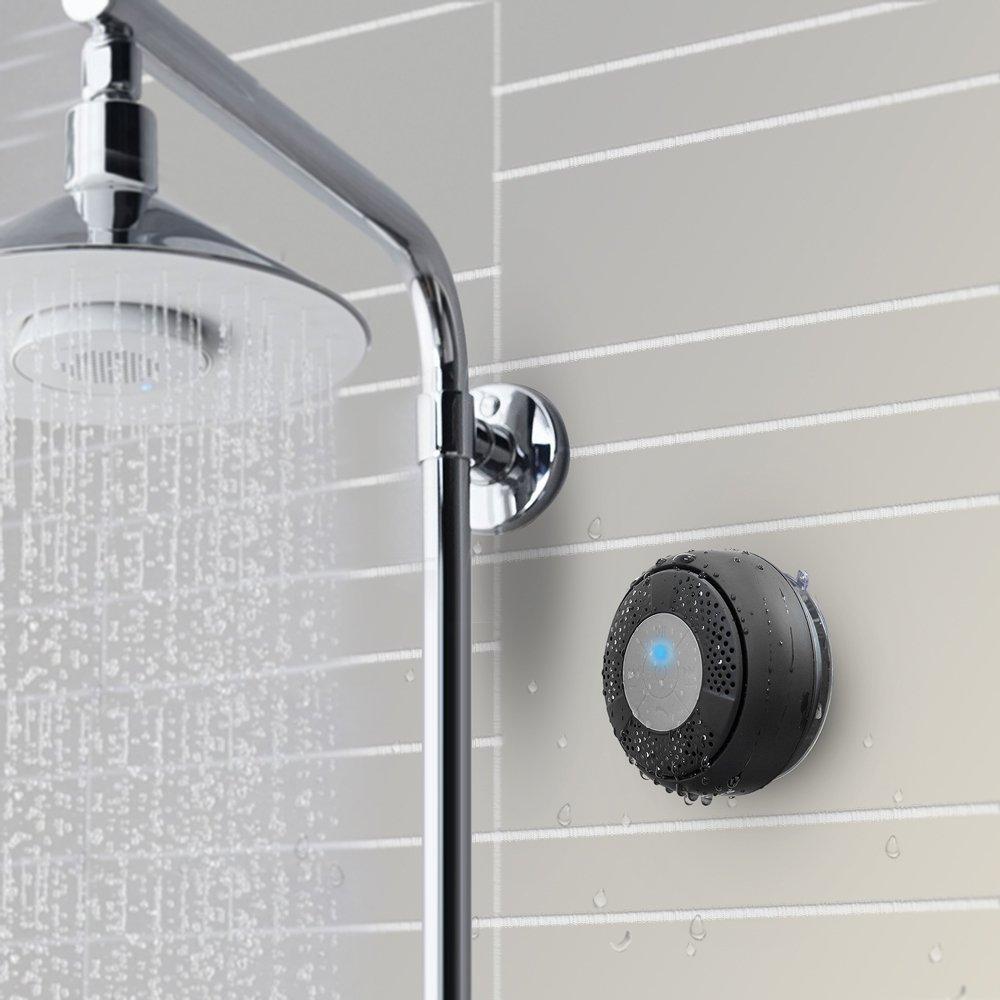 TaoTronics Bluetooth Lautsprecher Mini Wasserdicht Tragbarer