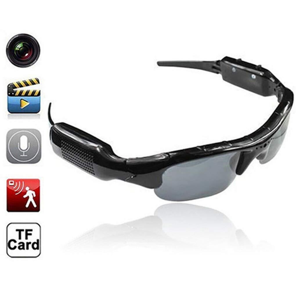 Ruiboury Dünner DVR Sonnenbrille-Kamera TF-Karten-Miniaudiovideogerät