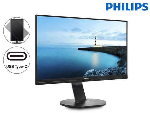 Philips 27″-QHD-Monitor | USB-C