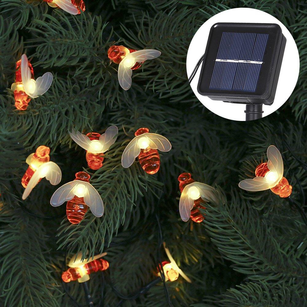 Tomshine Led Solar Bienen Lichterketten