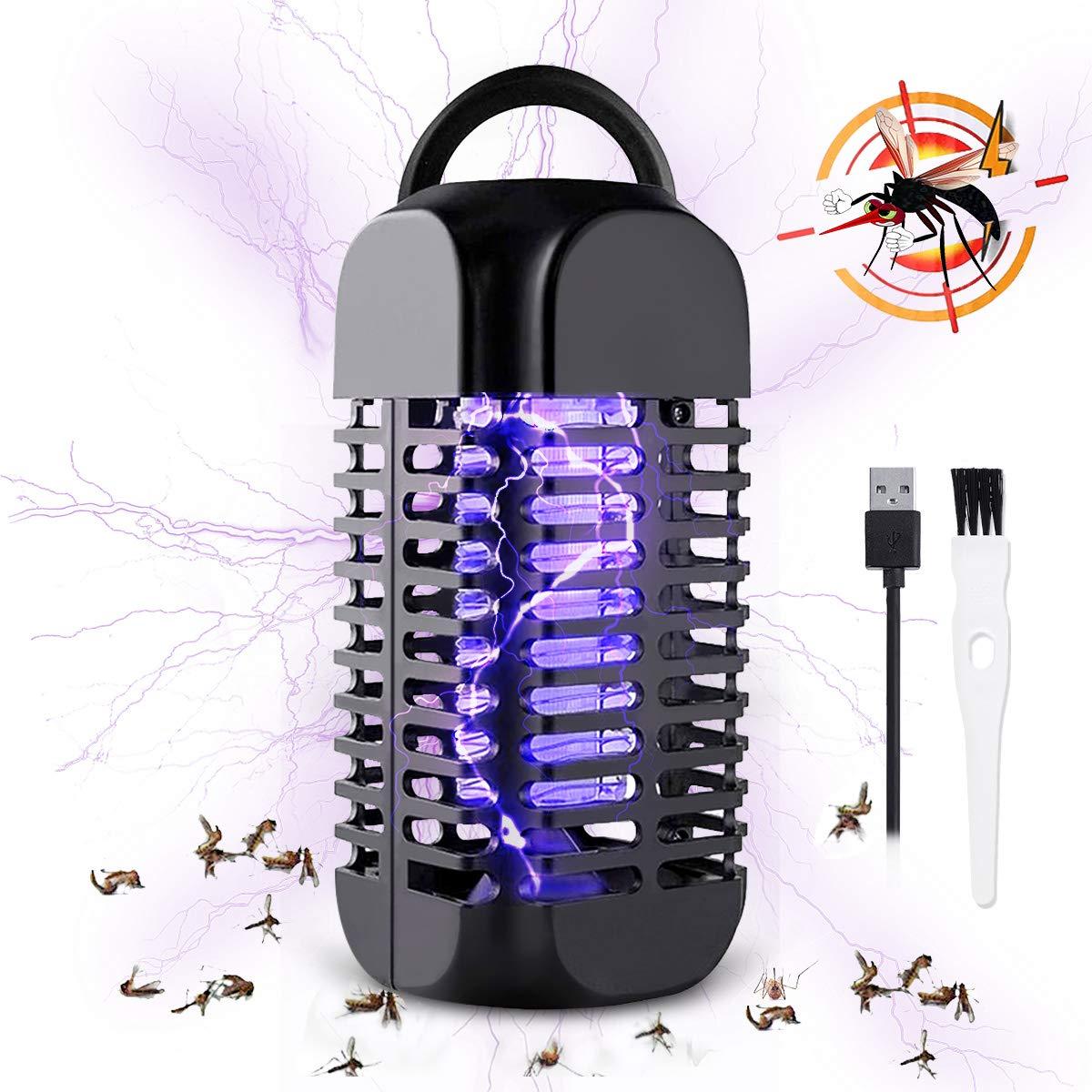 Baban Insektenvernichter elektrisch, Licht UV- Mückenlampe, hängbarer Moskito Killer