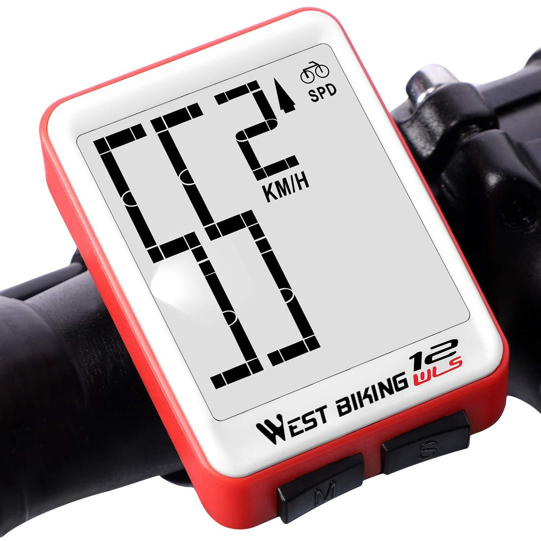 Lixada Fahrradcomputer Kabellos Fahrrad Thermometer