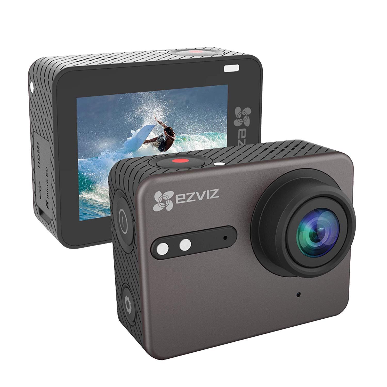 EZVIZ 4K Action Cam mit wasserdichtem Gehäuse 4K 30 WiFi Action Kamera mit EIS