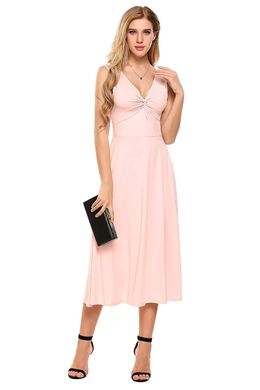 11,99€ - Damen Elegant Abendkleid Partykleid Cocktailkleid ...