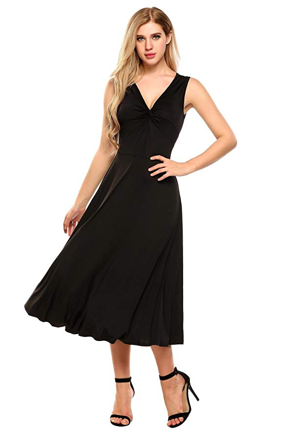 11,99€ - 80% off Damen Elegant Abendkleid Partykleid ...