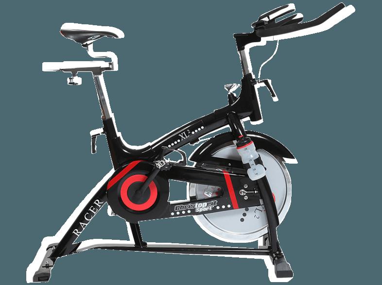 CHRISTOPEIT Racer Bike XL 2 schwarz Heimtrainer