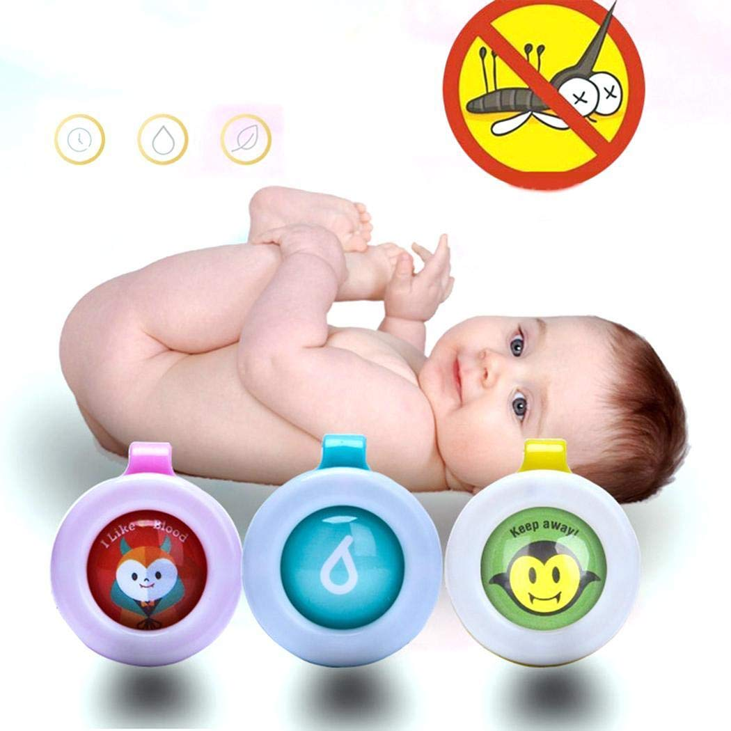 80% off Sliwei 5 Stück Mini Cute Baby Mückenschutz Clip Anti Moskito Schnalle