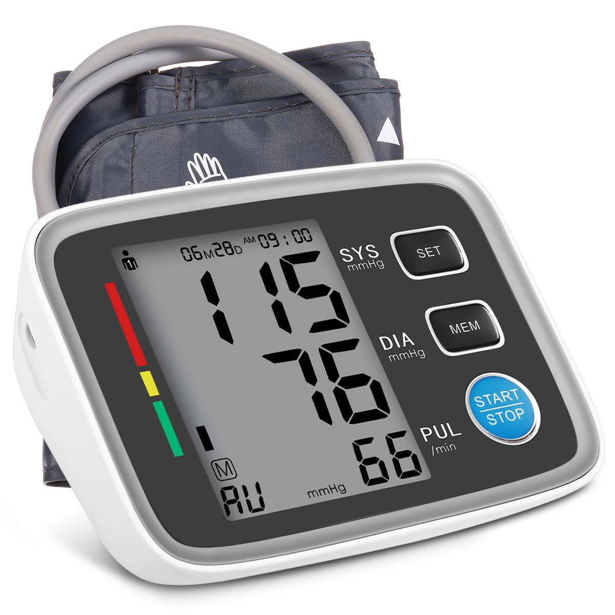 Hizek Blutdruckmessgerät Oberarm Digitale Blutdruck Messgeräte