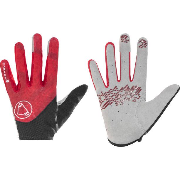 Endura Hummvee Lite Gloves red