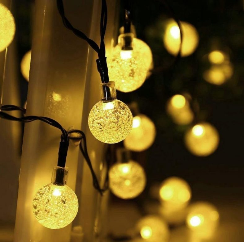 Salcar 5m Solar Lichterkette Fantasy String Lights 20 LED