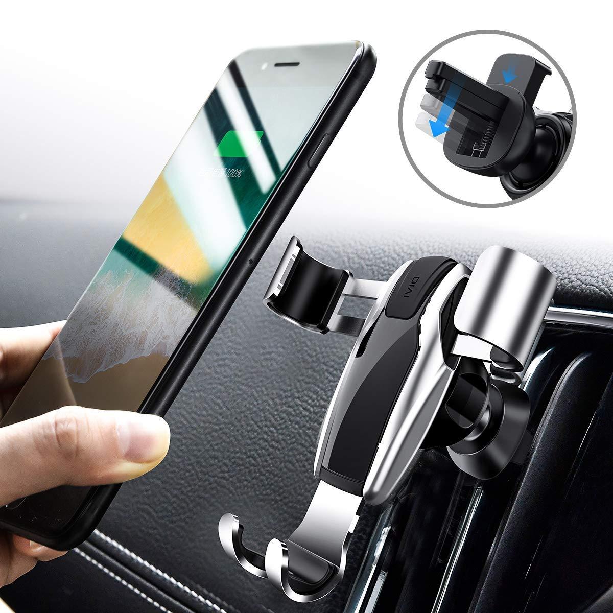 Handyhalterung Auto, DIVI Schwerkraft Linkage Autotelefonhalterung