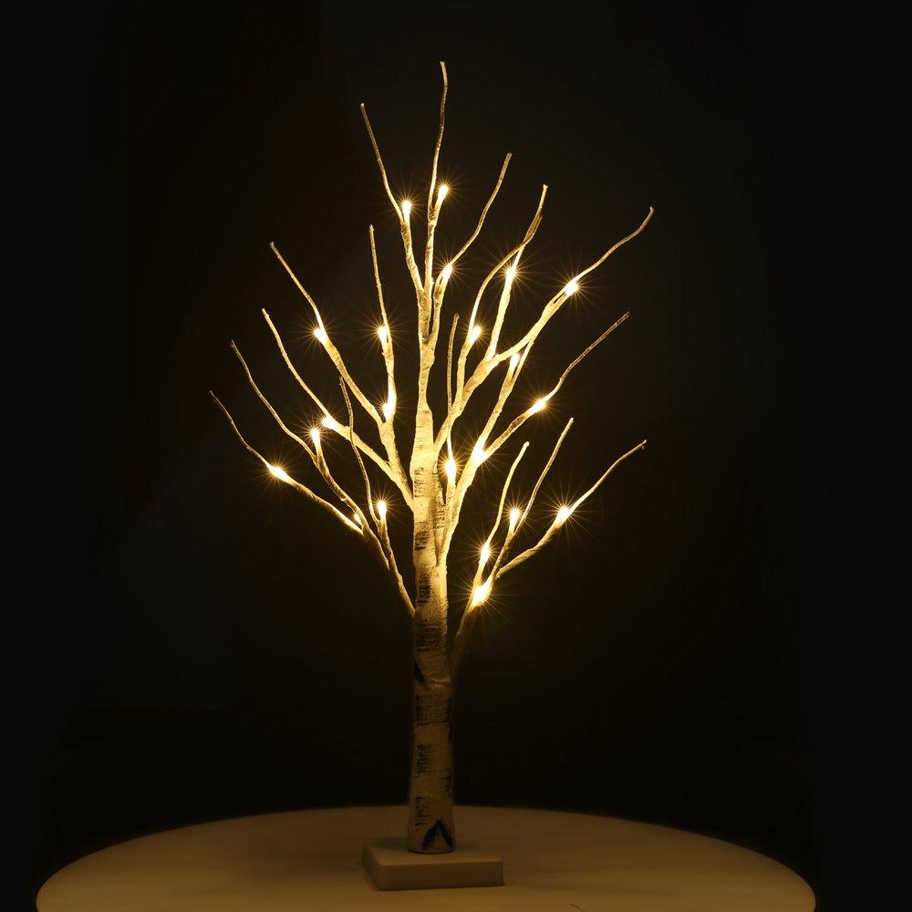 Zanflare Weihnachtsbeleuchtung Weihnachtsdeko Lichterbaum mit Ästen für Zuhause