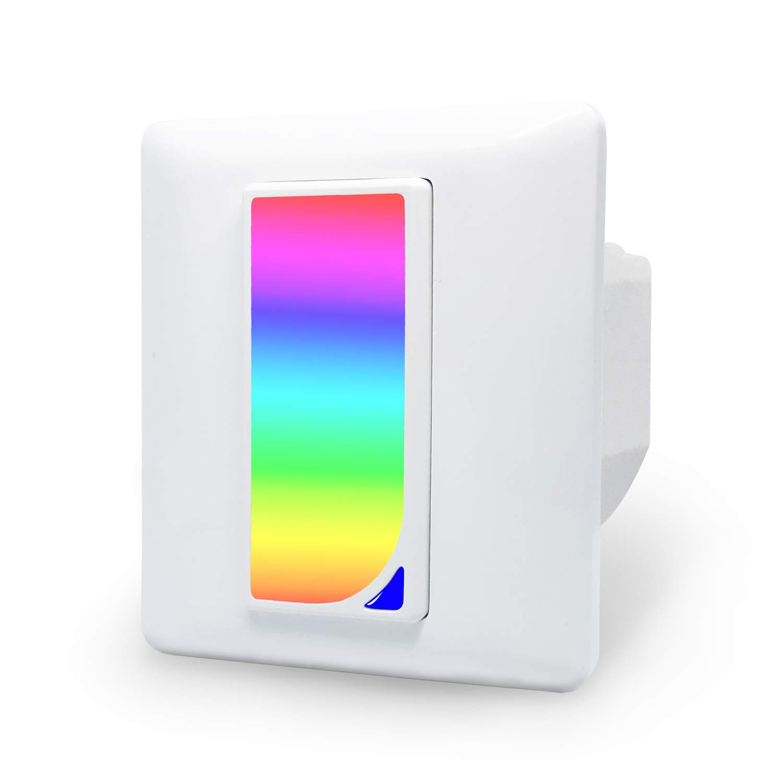 2 in1 Smart Lichtschalter Kompatibel mit Echo Alexa/Google Home