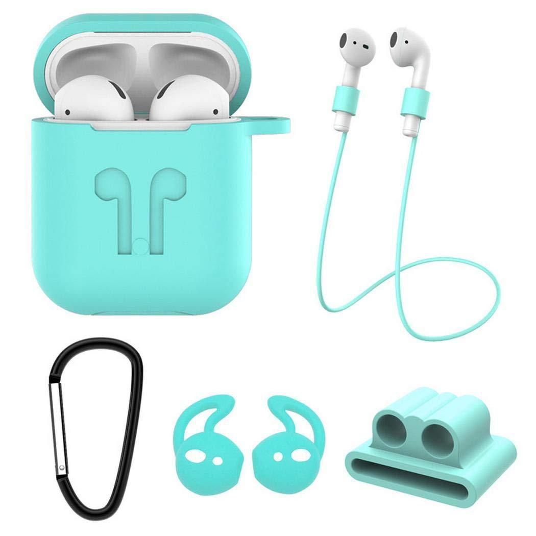 5Stü/Packung Unisex Kopfhörer Zubehör-Set, Kopfhörer-Schutzbox